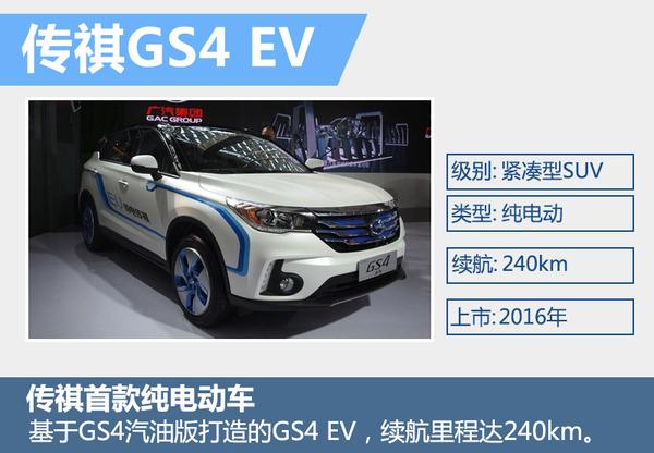 广汽传祺GS4电动版 等三款衍生车将上市(图2)