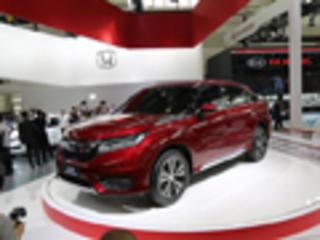 首款中型SUV发布 车展实拍广汽本田冠道