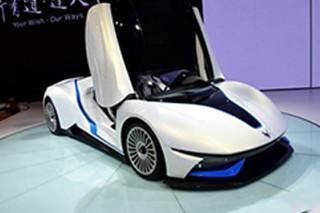 北汽新能源首款增程式电动车 明年底上市