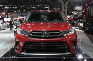 丰田2017款汉兰达售价公布 本月中旬上市