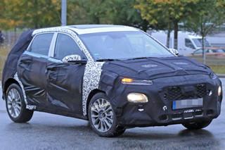现代全新小型SUV谍照曝光 明年正式发布