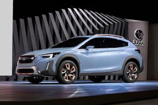 斯巴鲁推全新跨界概念车 于18日国内首发