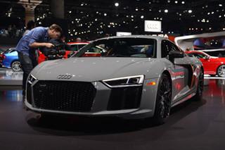 2016洛杉矶车展:奥迪R8全新限量特别版