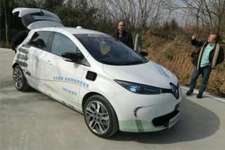 自动驾驶在华首测 看雷诺未来出行新策略