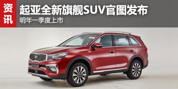 起亚全新旗舰SUV官图发布 明年一季度上市-东风悦达起亚高清图片