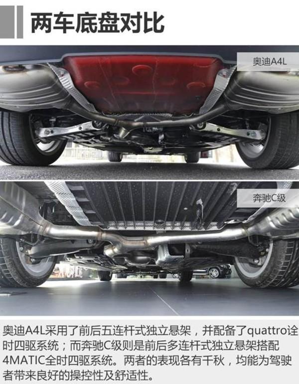 """动力方面,奥迪A4L的第三代EA888 2.0T高功率发动机在动力性能上""""完爆""""奔驰C级的2.0T发动机。在传动方面,奥迪A4L的7速双离合变速箱在换挡速度及平顺性上也同样优于对手。相较奔驰C级,奥迪A4L无疑能为驾驶者带来更富有激情的驾驶体验。"""