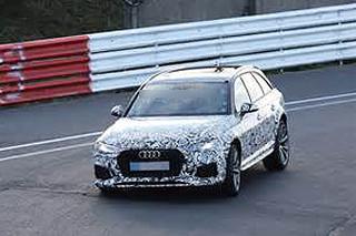 全新奥迪RS4 Avant谍照 采用轻量化设计