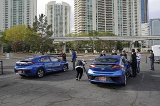汽车与住房合体 现代多款新技术亮相CES