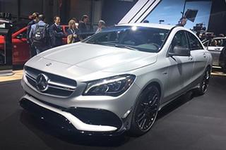 奔驰新款CLA正式上市 入门版售价降2万元