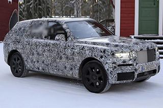 劳斯莱斯全新SUV假想图 有望明年发布
