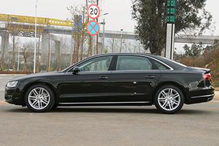 奥迪新A8L增两款车型 售87.98-184.8万