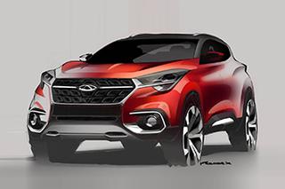 奇瑞全新SUV量产版设计图 采用古典元素