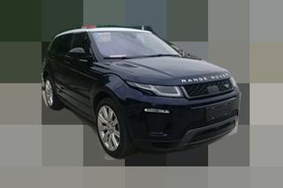 揽胜极光增特别版车型 采用新外观套件