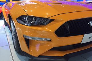 网通社上海车展探馆:新款 Mustang GT