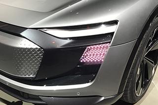 未来中的现实 上海车展实拍-奥迪概念车