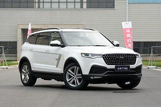 众泰T700将于5月31日上市 预售13万元起