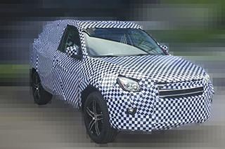 力帆新小型SUV谍照曝光 采用悬浮式车顶