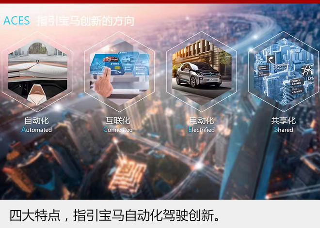 在宝马第一战略的领导下,企业正在为转型成高科技公司而努力。此次携BMW i未来概念座舱以未来城市智能出行为主题参加CES展览,将对智能化出行实现共享。自动化、电动化、互联化以及共享化,将是宝马未来创新的发展方向。