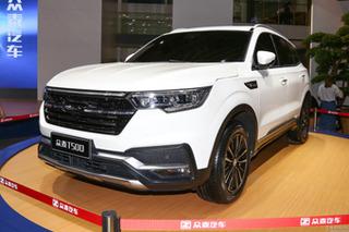 众泰全新SUV将于11月上市 搭1.5T发动机