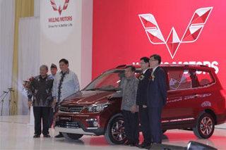 五菱品牌冲出国门 首款MPV在印尼下线