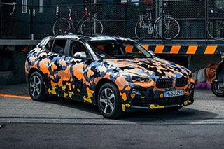 宝马X2量产车将发布 官方预告图提前看