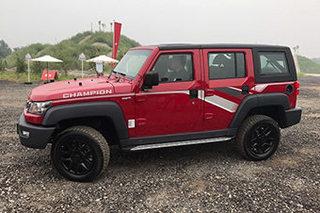 北京BJ40L/BJ80特别版上市 售16.98万起
