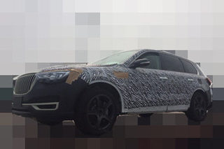 红旗中大型SUV最新谍照 有望年内发布