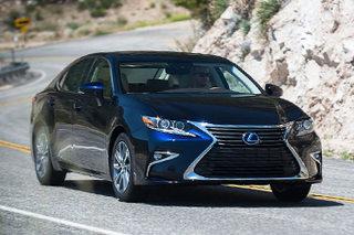 雷克萨斯ES增3款新车型 售38.8万元起
