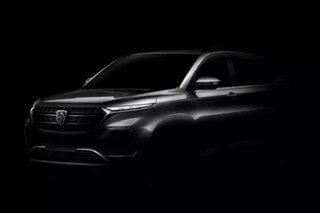 宝骏全新SUV预告图 有望于2018年上市