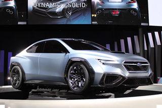 斯巴鲁3款概念车发布 展示全新WRX雏形
