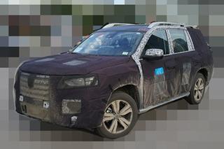 荣威首款7座SUV最新谍照 有望明年上市