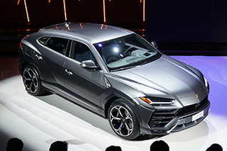 奢华与性能兼备的SUV 实拍兰博基尼Urus