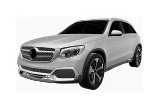 奔驰全新中型SUV专利图曝光  有望入华