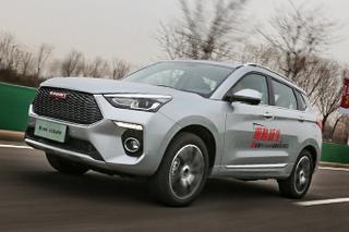 自成一派的自主SUV 试新哈弗H6 Coupe红标