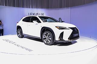 GLA&Q3的强劲对手 雷克萨斯UX车展实拍