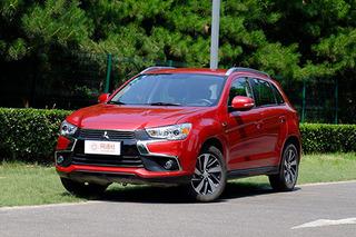 三菱劲炫ASX全系优惠1.5万元 有现车