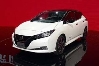 东风日产全新电动车预告图 与聆风共享动力