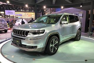网通社北京车展探馆:Jeep大指挥官混动版