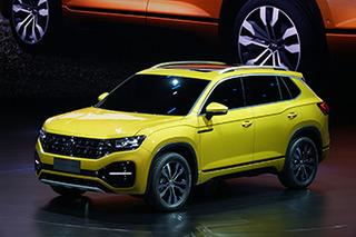 """一汽-大众第2款SUV叫""""探荣""""?大小与途观L接近"""