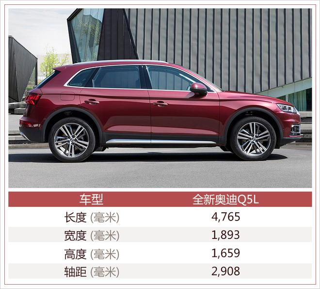 奥迪全新Q5L将于7月6日上市 预计推出六款车型