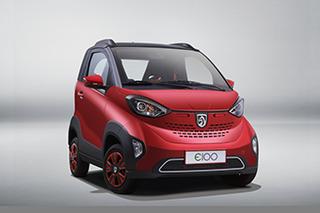比smart小的电动车 宝骏E100正式上市/4.68万起