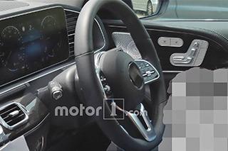 全新梅赛德斯-奔驰GLE内饰曝光 下半年正式推出