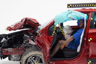 现代小型SUV安全解析 正面25%碰撞乘员保护充分