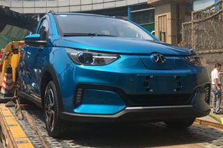 探馆:北汽新能源电动车 全新EC3