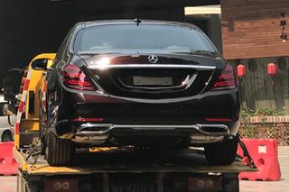 探馆:梅赛德斯-奔驰新款S320L 四缸车型