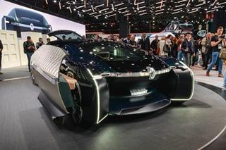 巴黎车展 雷诺发布自动驾驶概念车EZ-ULTIMO