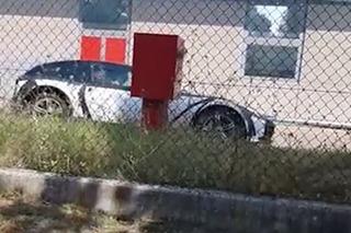 法拉利首款SUV测试谍照曝光 或搭载6缸混合动力
