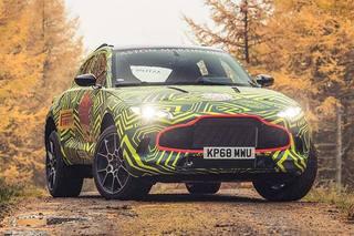 阿斯顿·马丁首款SUV定名DBX 将2019年正式发布
