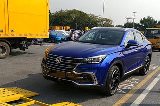 2018广州车展探馆:长安首款跨界SUV CS85