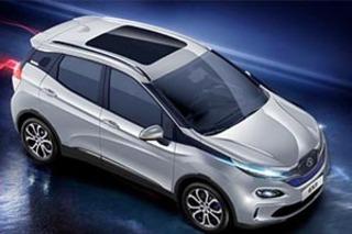北汽新能源EX3量产版于明日首发 年底正式上市